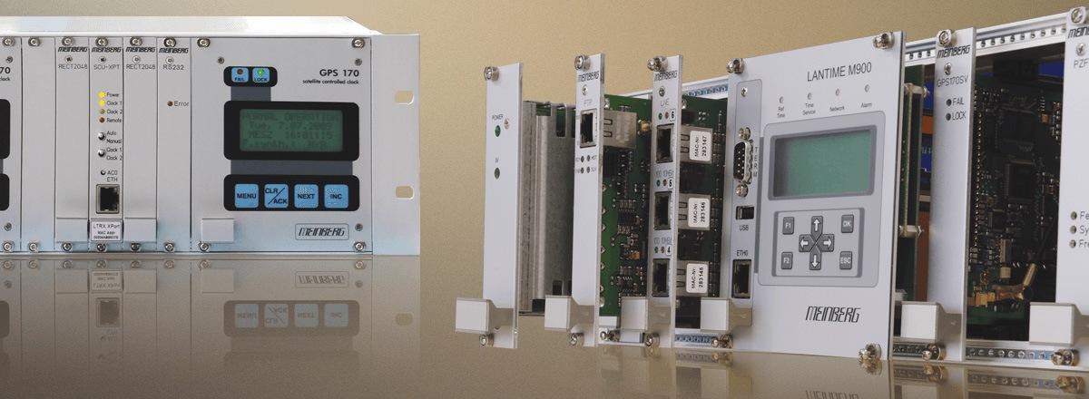 Meinberg Funkuhren - Lösungen zur Zeitsynchronisation