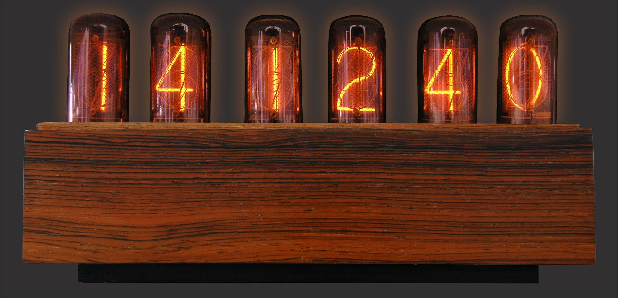 die weltweit erste ntp synchronisierte nixie tube uhr. Black Bedroom Furniture Sets. Home Design Ideas